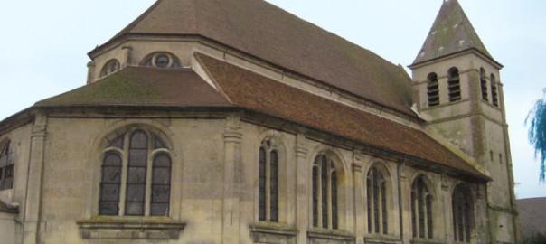 Couvertures du bas côté Nord après restauration