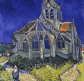 L'église d'Auvers-sur-Oise Juin 1890