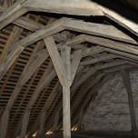 charpente transept nord