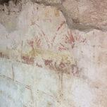 peintures murales après restauration